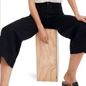 NEW! Madewell Emmett Wide Leg Cropped Pants